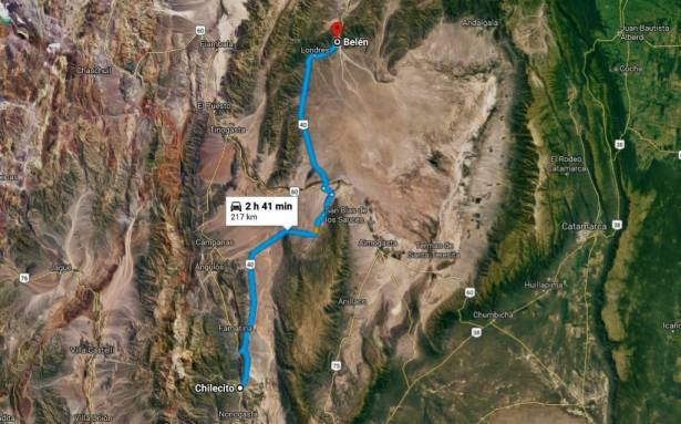 Ruta 40 / Chilecito To Belen